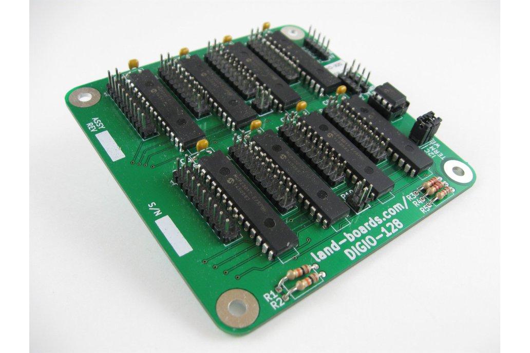 64/128 Channel Digital I/O Card (DIGIO-128) 1