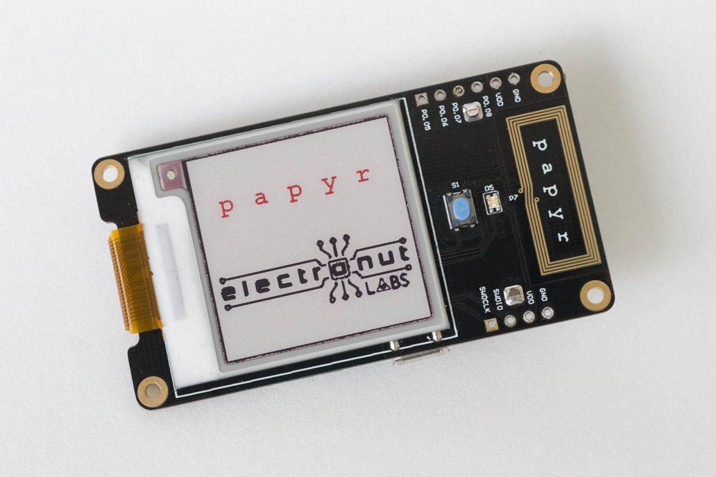 Papyr - Nordic nRF52840 epaper display 1