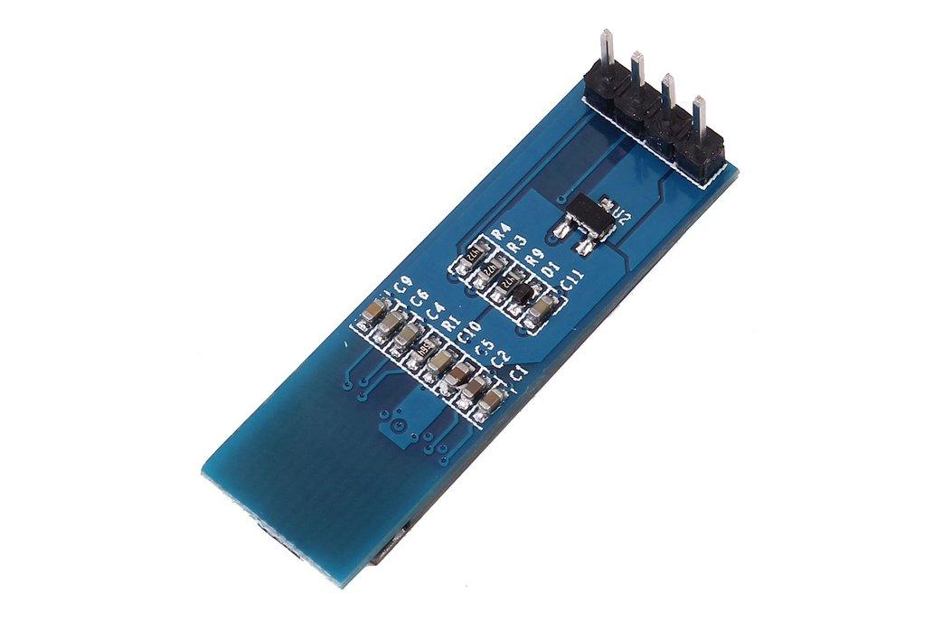 """0.91"""" Inch 128x32 I2C IIC Blue OLED  (9934) 3"""