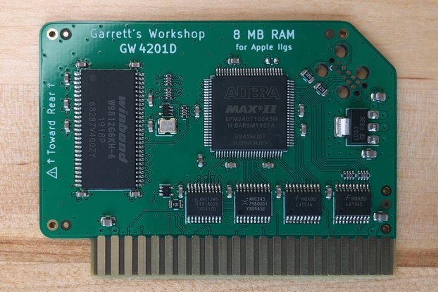 RAM2GS II (GW4201D) -- 8MB RAM for Apple IIgs