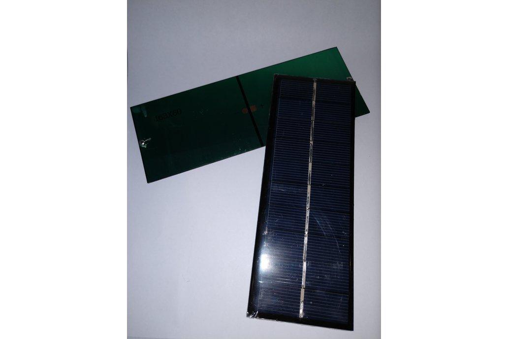 Unterminated 5V 200mA Solar Panel 1