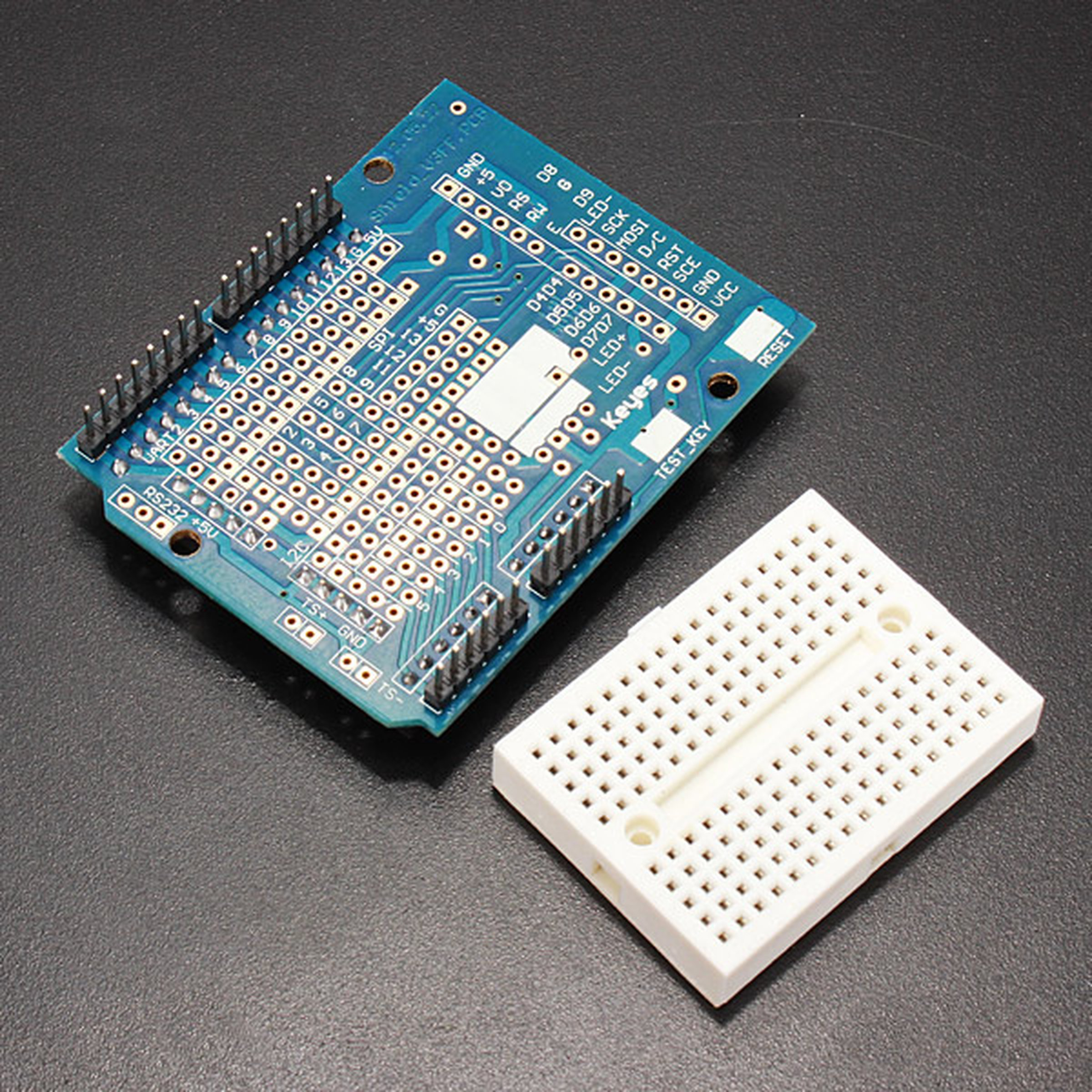 Arduino Compatible Uno R3 Starter Kit Set For Step Motor 1602 Lcd Thermistor Circuit Further On A Breadboard Circuits 4