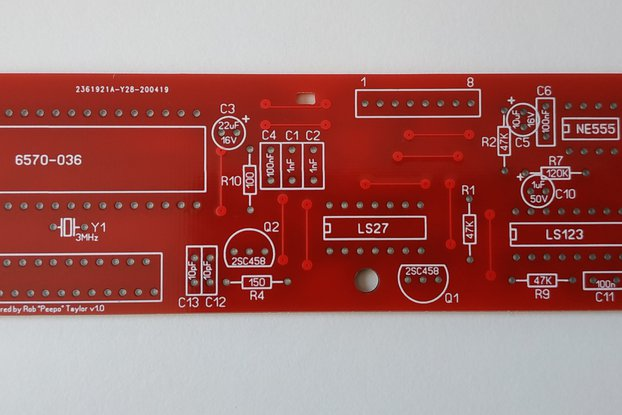 PCB Replacement for Amiga Mitsumi Keyboard