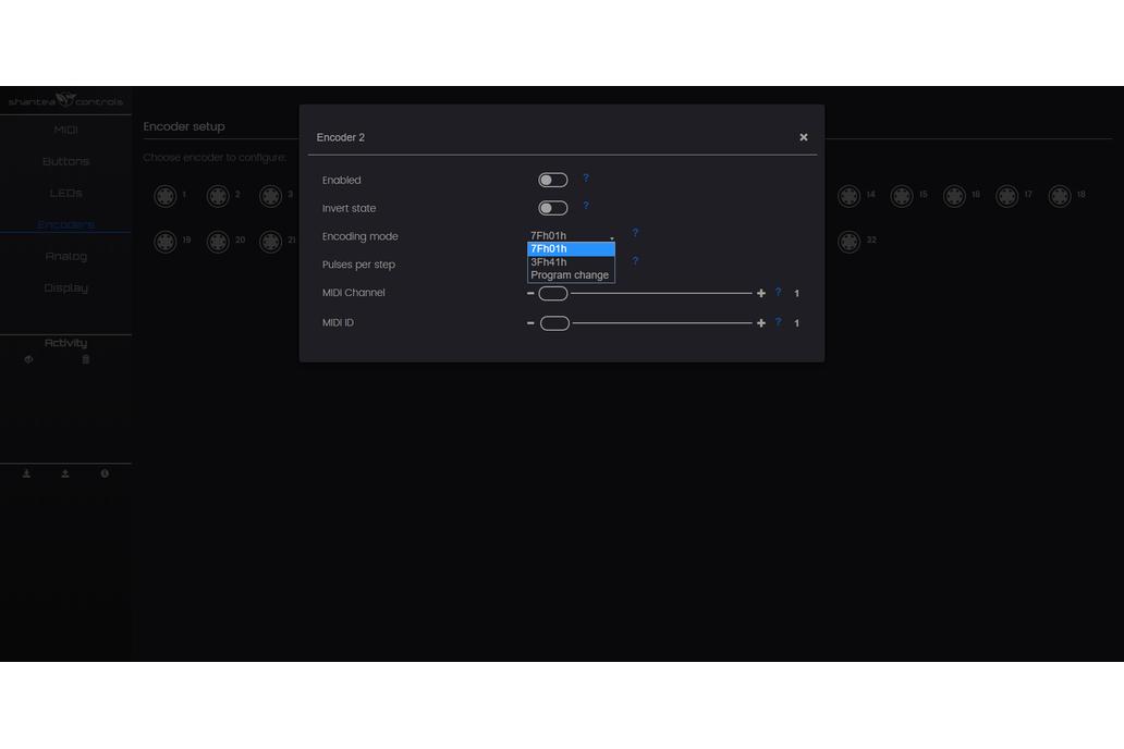 OpenDeck DIY MIDI platform - Arduino Mega 8