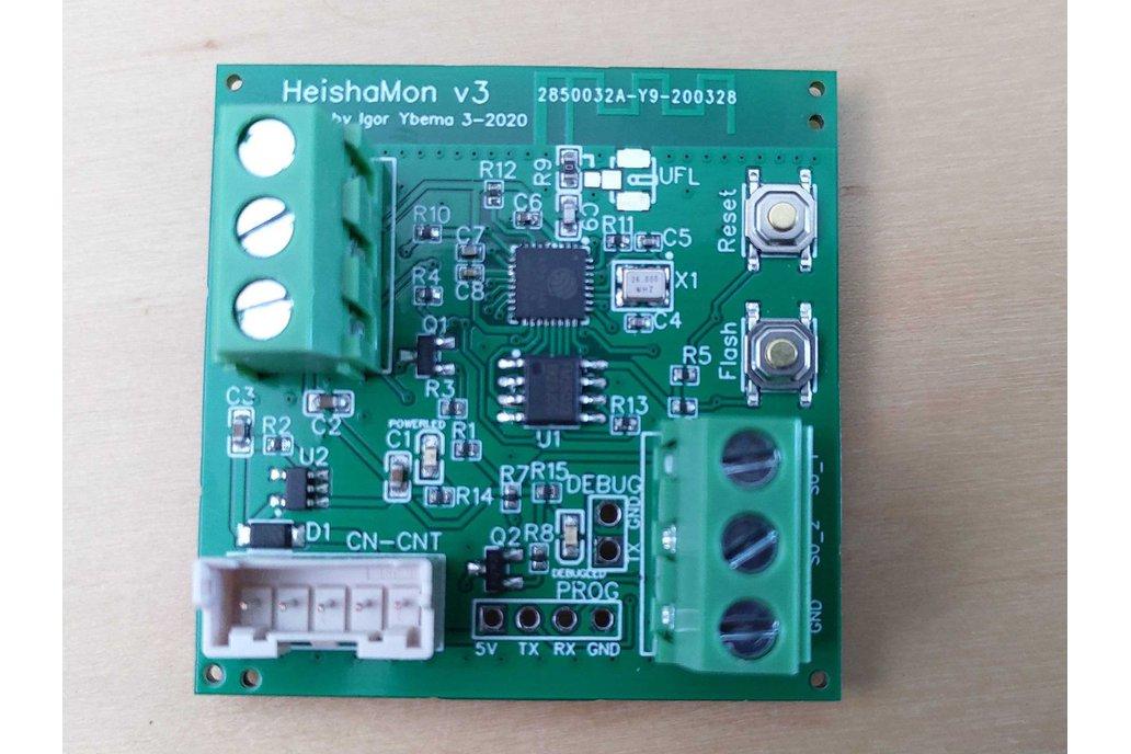 HeishaMon v3 communication PCB 1