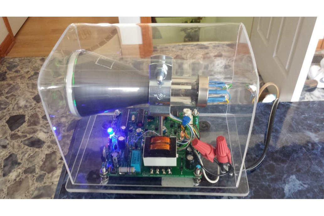 "Mini Oscilloscope Clock DG7-6 Cathode Ray Tube 3"" 3"