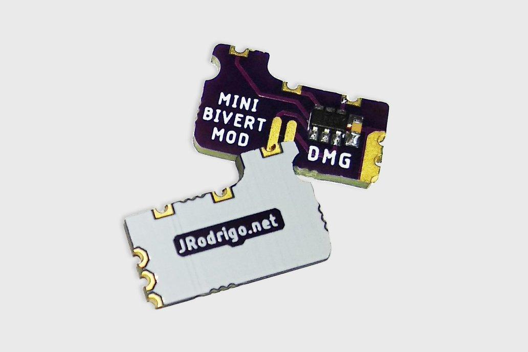 Bivert Module for Nintendo Game Boy DMG