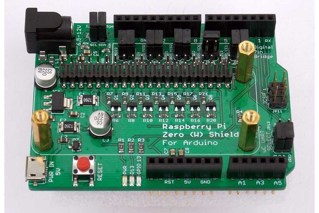 Raspberry Pi Zero (W) Shield for Arduino 1