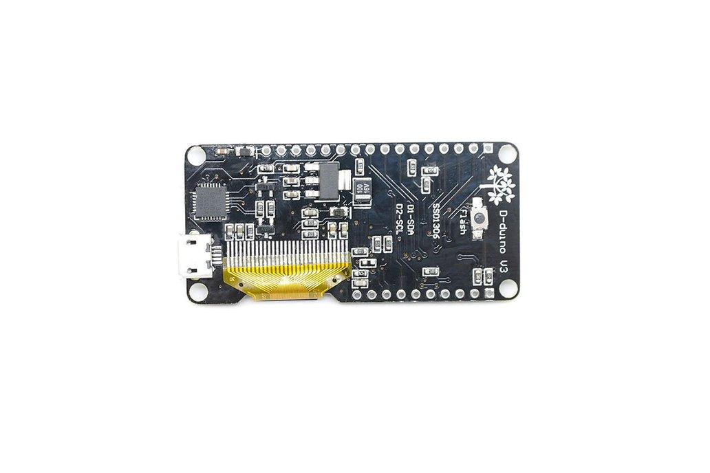 D-duino V3(Arduino&NodeMCU&ESP8266&0.96OLED) 2