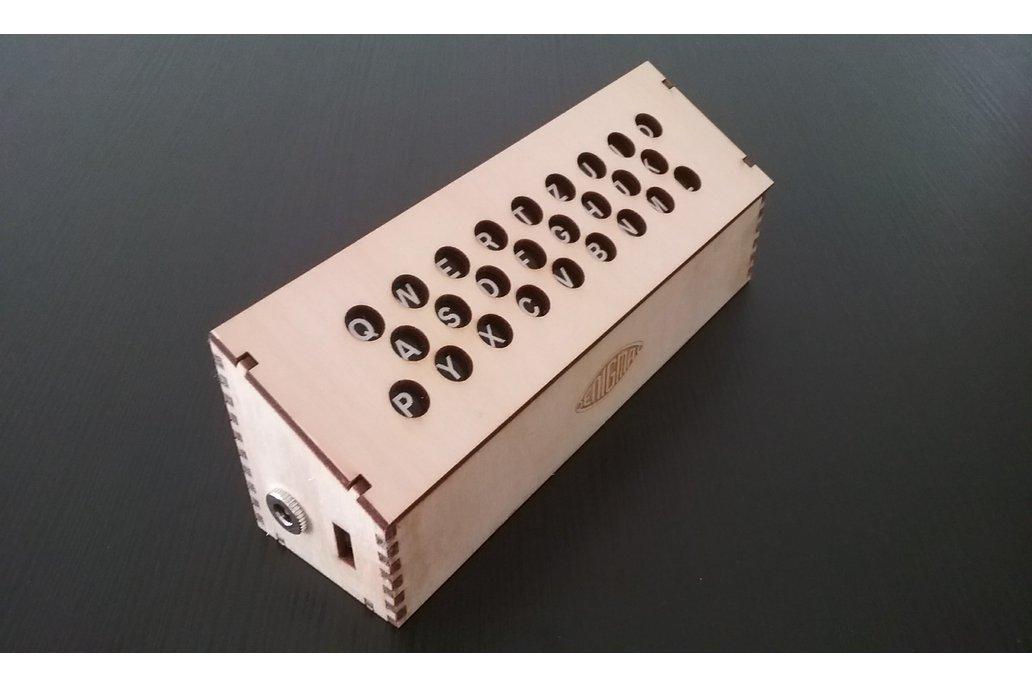 Lamp Field for the Arduino Enigma Machine 6