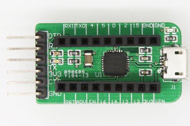 TinyUART USB To UART converter for TinyESP