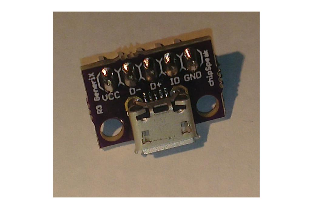 Micro USB Breakout 3