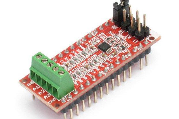 ADC Nanoshield - ADS1115