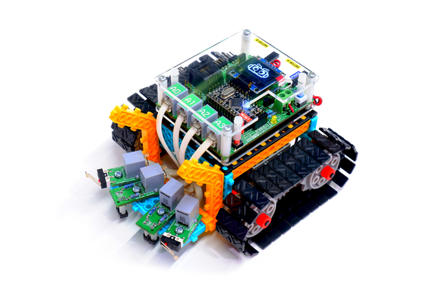 ROBOSTEP: Arduino Robot Kit with Block Programming