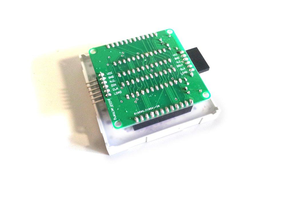 60mmx60mm Bicolor LED Matrix Driver Module DIY Kit 3
