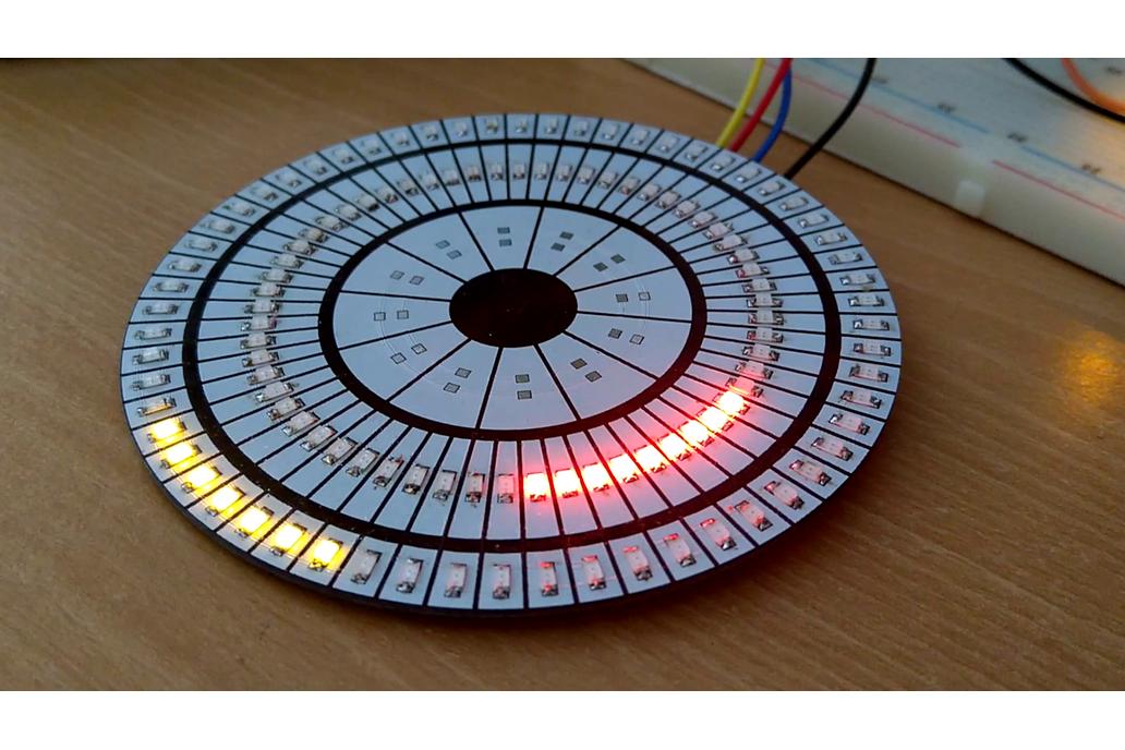 Battlestar Chronometer Bare PCB (LED Matrix) 1