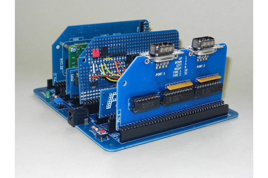 Twin Port Joystick Module For RC2014 Z80 Computer
