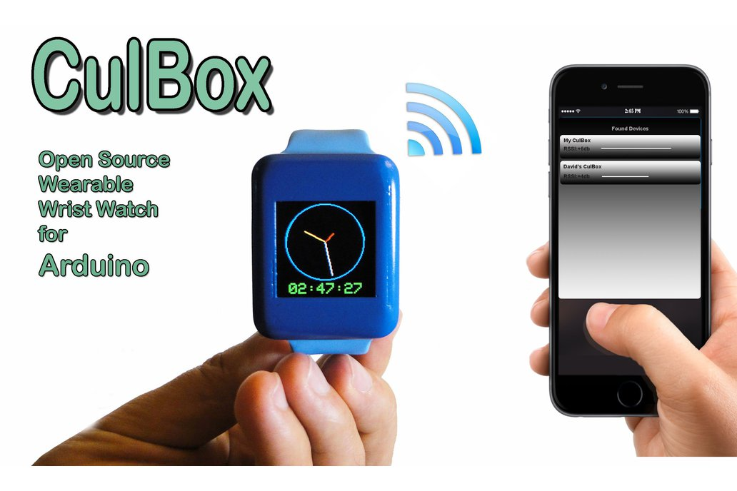 CulBox , Open Source Smart Watch for ARDUINO 2