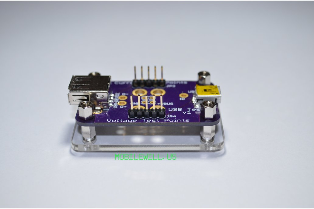 Acrylic Base for USB Tester 1