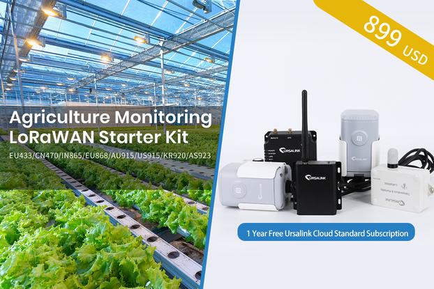 Ursalink LoRaWAN Agricultural Monitoring Kit