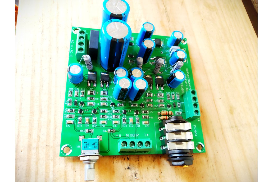 Discrete Dynamics DIY Class A Preamp/Headphone amp 1