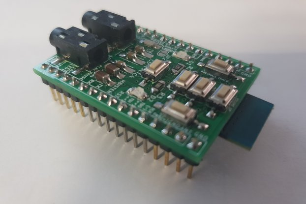 Assembled advanced breadboard adapter for BK8000L