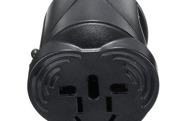 US/AU/UK/EU Universal AC Power Plug Worldwide Trav