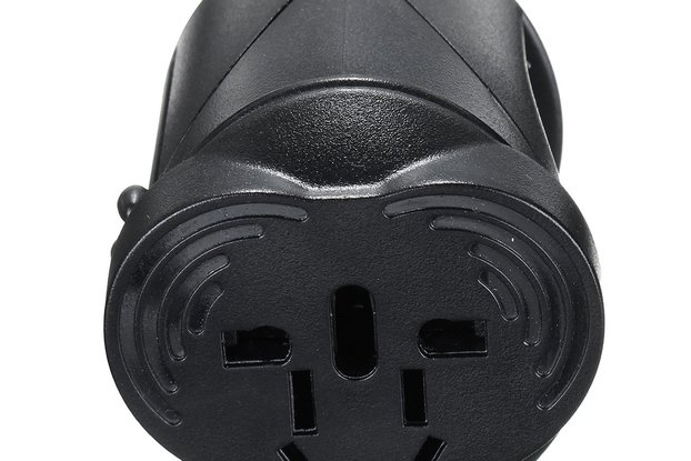 US/AU/UK/EU Universal AC Power Plug Worldwide Trav