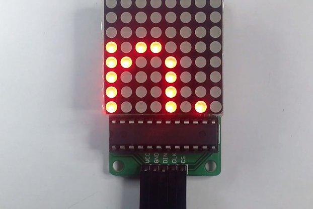MAX7219 8*8 Dot Matrix Display Module(11102)