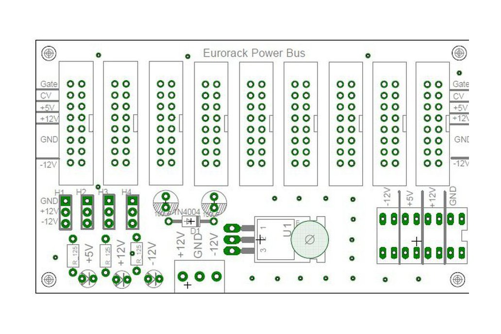 EuroRack Power  + Dual Power Supply + AC adapter 3