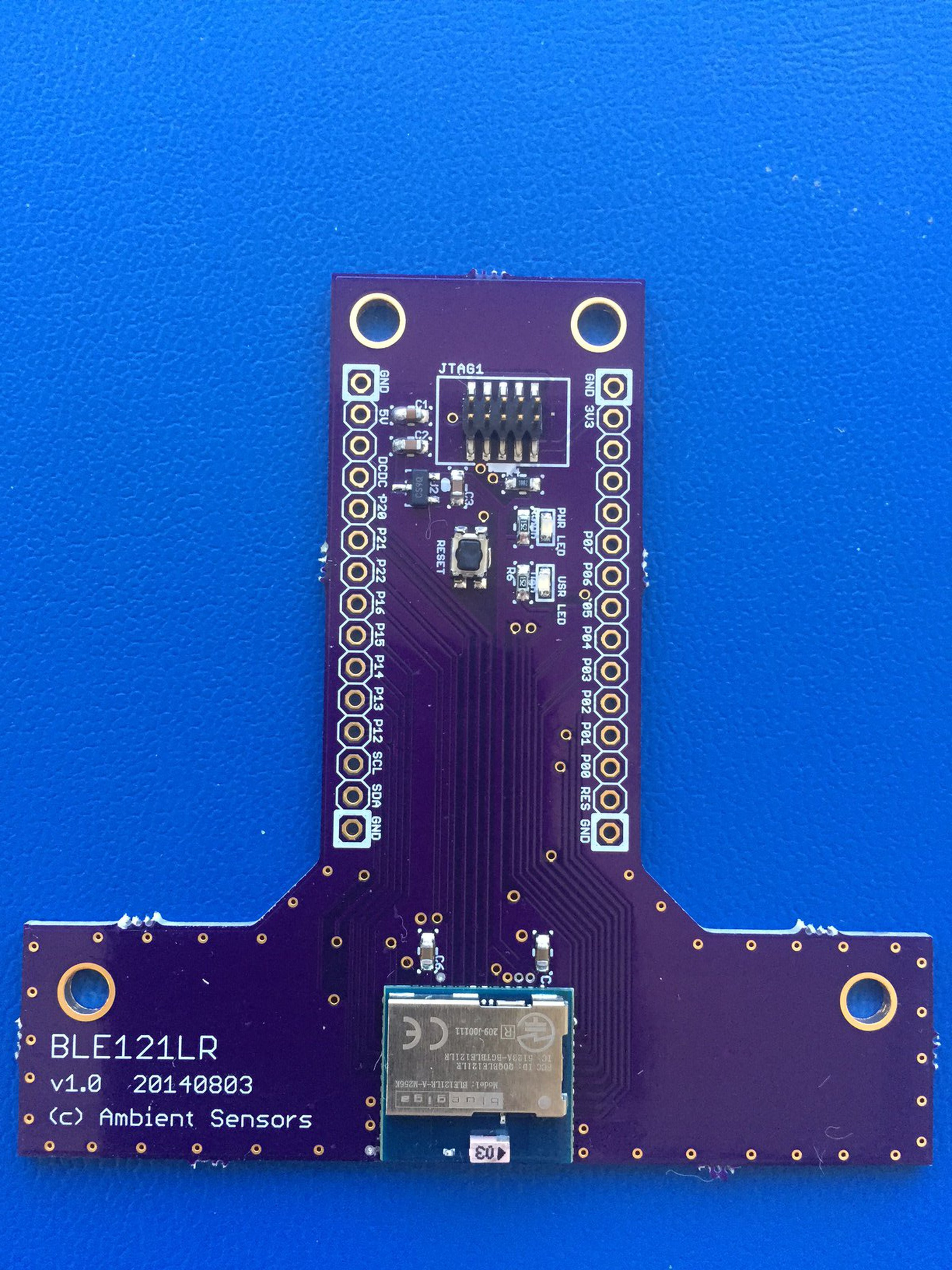 Browse Products By Ambient Sensors On Tindie The Lr Series Circuit Electronics Sale Ble121lr Long Range Bluetooth Low Energy Breakout