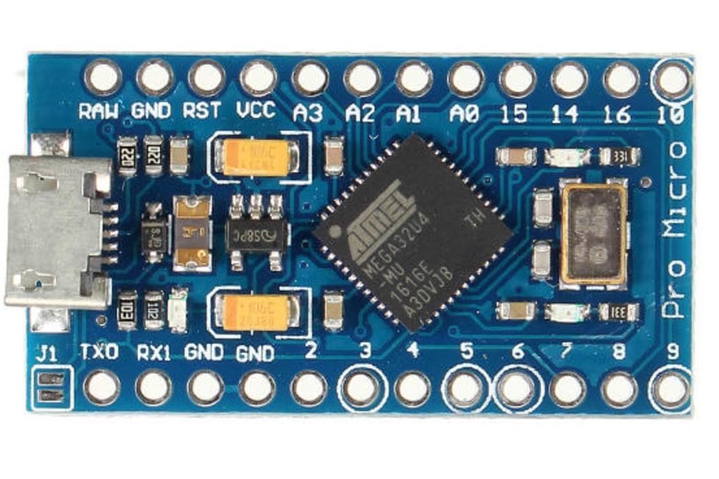 5-Pack Arduino Pro Micro 3.3V 1