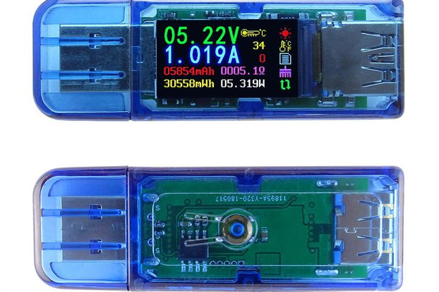 AT34 USB 3.0 power bank USB Tester