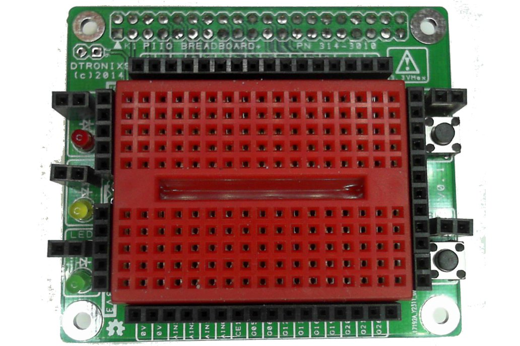 Raspberry PIIO - Breadboard+ add-on board 1