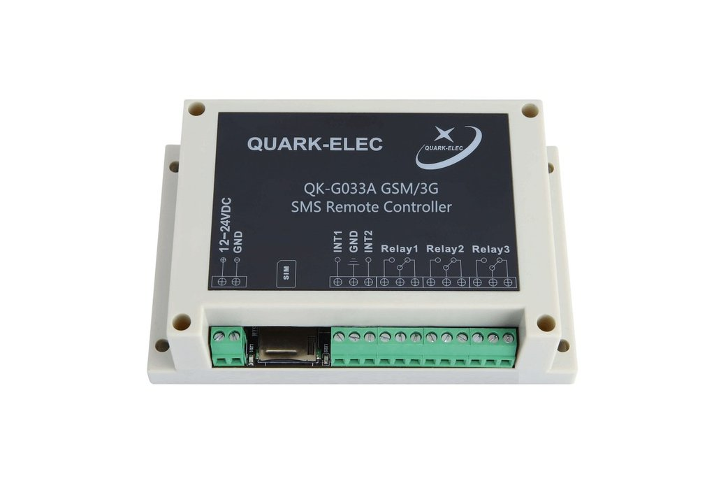 QK-G033 GSM/3G SMS Remote Control Three outputs-UK 1