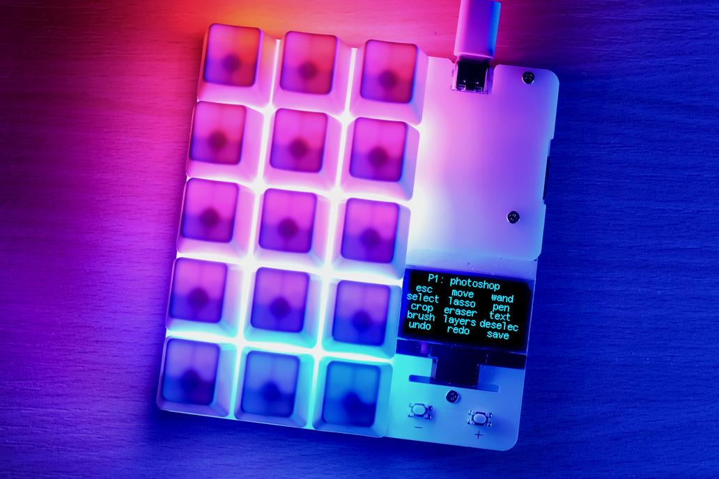 duckyPad: Do-It-All Mechanical Macropad 1