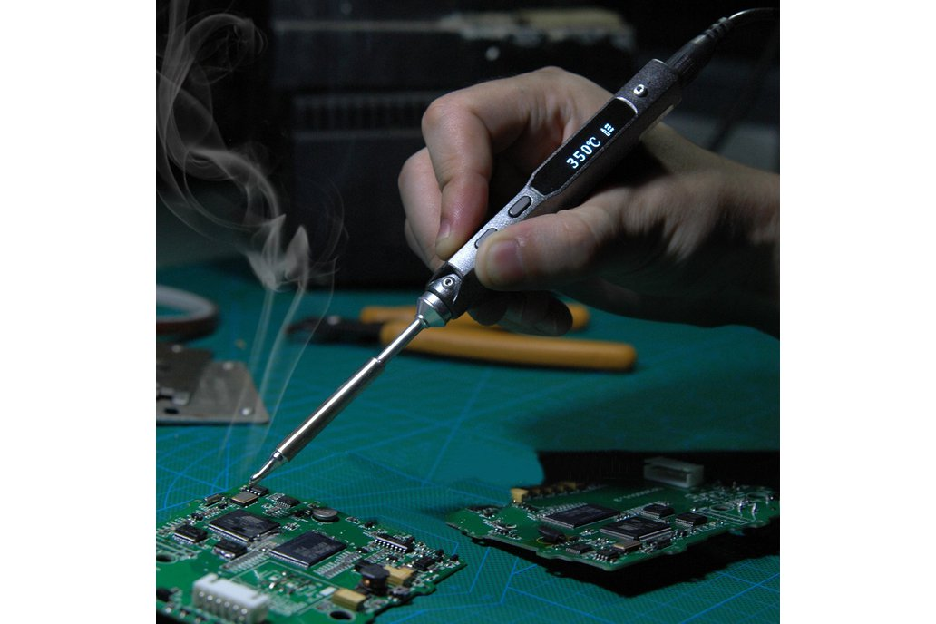 Digital OLED Programable Soldering Iron Station 1