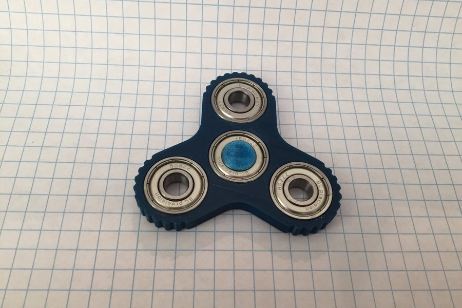 Triple Pocket Spinner