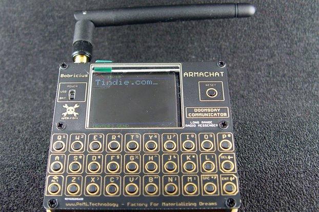 Armachat - LORA messenger  FUSION 2 version