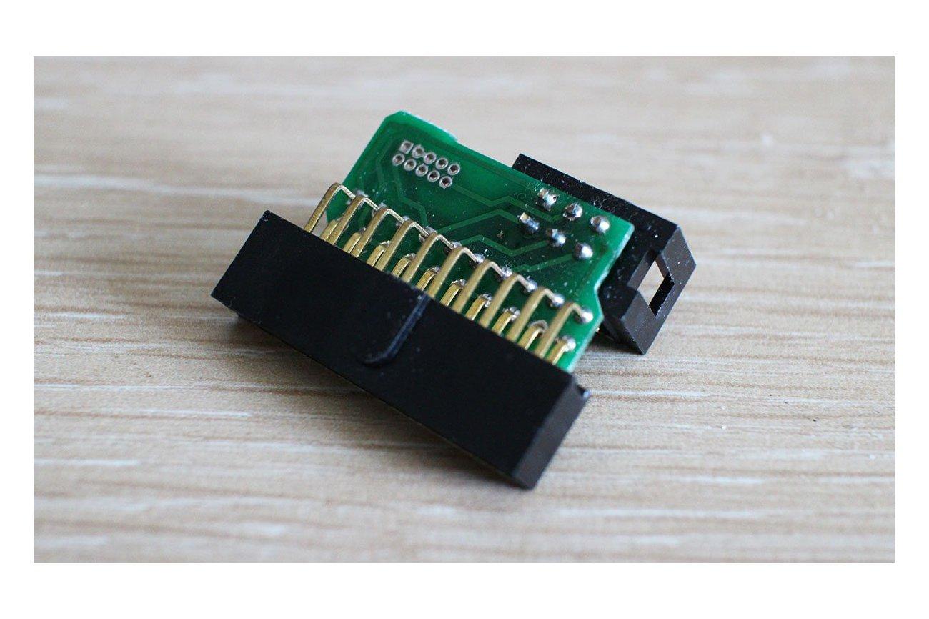 ARM Cortex 20pin to 6pin TC2030 adapter