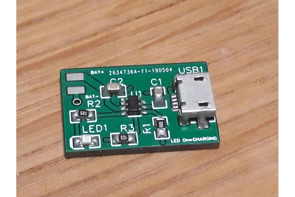 Micro USB Li-po/Li-ion charger 0.8A 1
