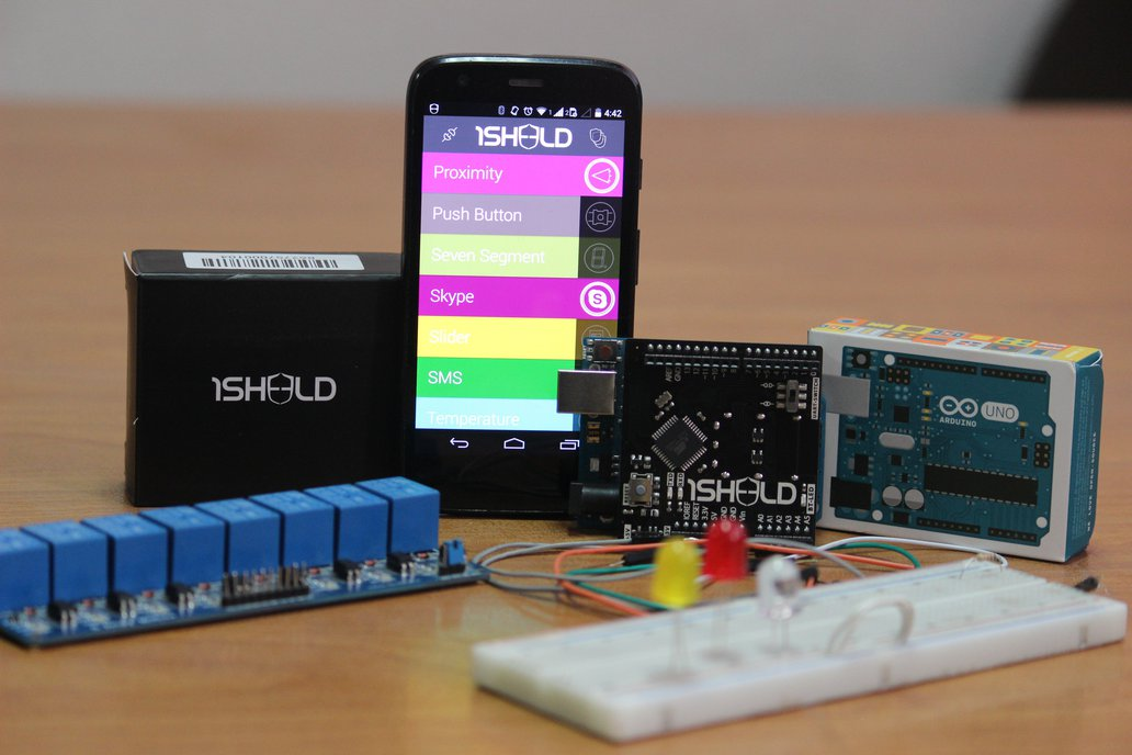 1Sheeld for Android - Arduino Smartphone Shield 1