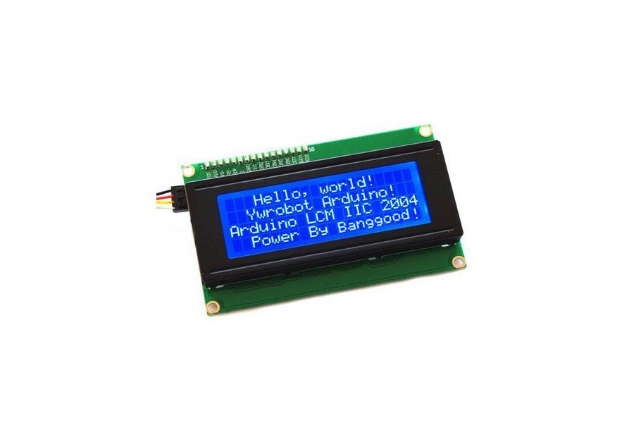 20 x 4 Character LCD Display Module (Blue)