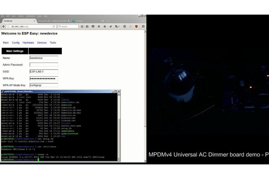 Universal AC MAINS Dimmer - MPDMv4.1