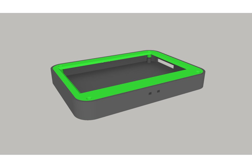 """LCD case and 7"""" TouchScreen  for Raspberry Pi 3"""