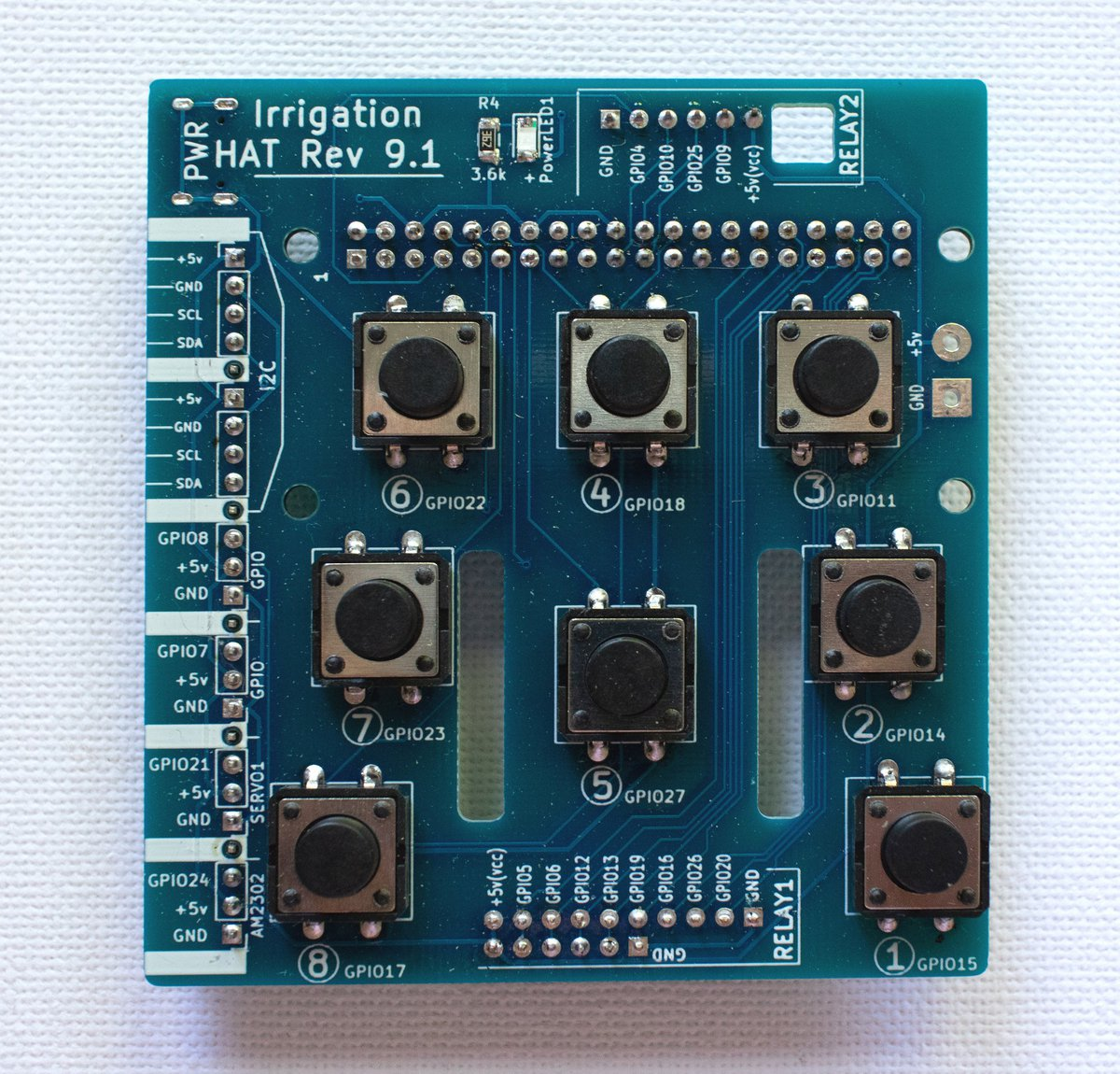 Board Front&Back view