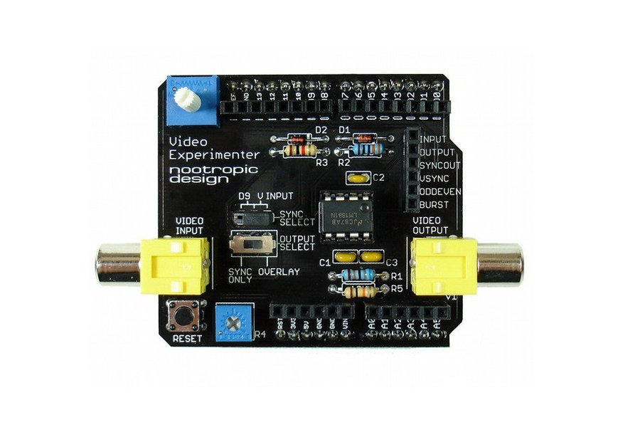 Video Experimenter Shield - Assembled