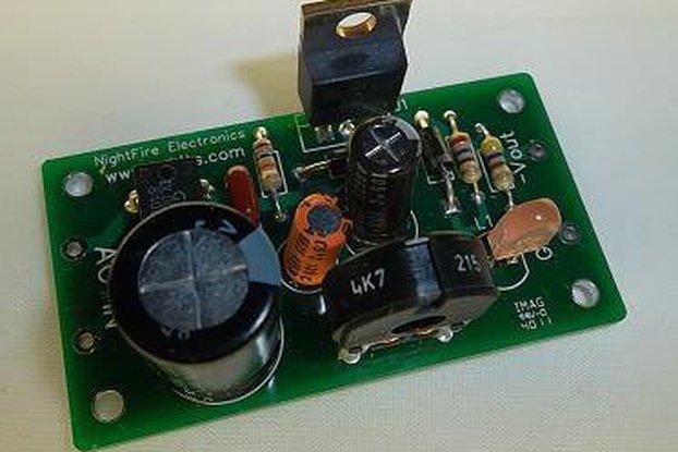Adjustable Negative Power Supply Kit (#1846)