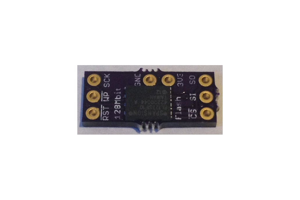 SPI Flash Memory Add-ons for Teensy 3.X 1