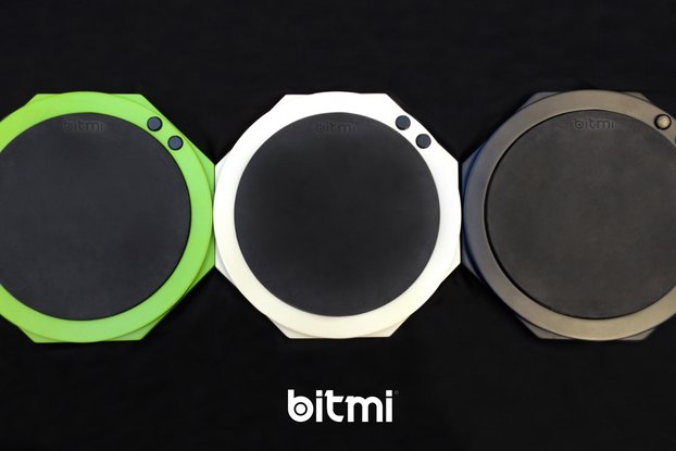 Bitmi - Boutique MIDI Drum Pad With Deluxe Bag